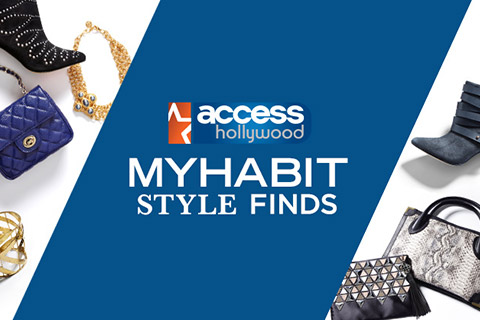 MyHabit Style Finds on Access Hollywood 3 9 16 Deal