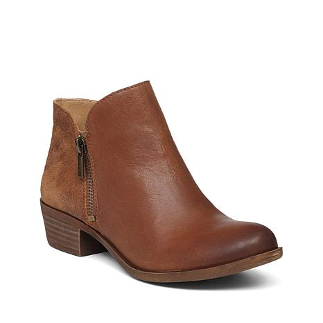 Lucky Brand Leather or Suede Blare Ankle Boot Deal - Flash ...