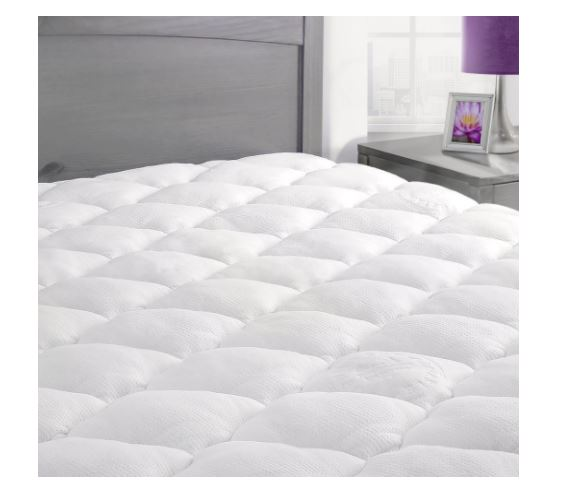 Bamboo Mattress Pad With Fitted Skirt Deal Flash Deal Finder