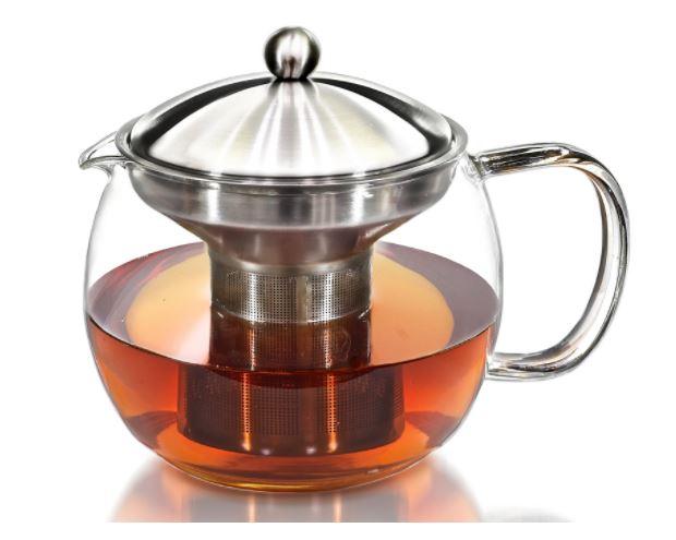 Willow & Everett Glass Teapot Infuser Deal Flash Deal Finder