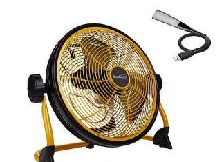 Geek Aire Rechargeable Water-Resistant Fan