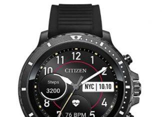 Citizen CZ Smart Stainless Steel Smartwatch