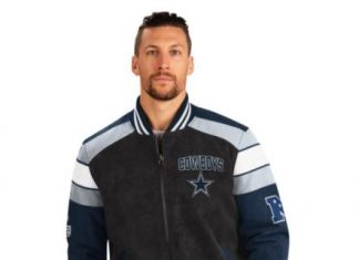 Officially Licensed NFL Faux Suede Jacket by Glll